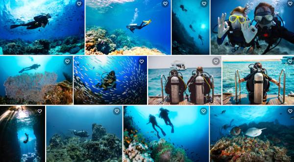 melhores pontos de mergulho do Brasil