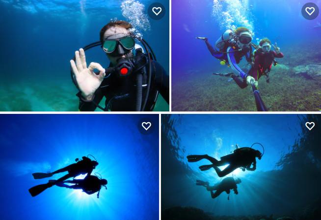 mergulho autônomo recreativo