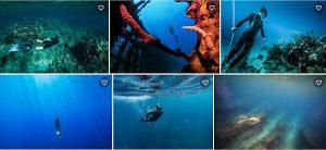 mergulho livre em apneia