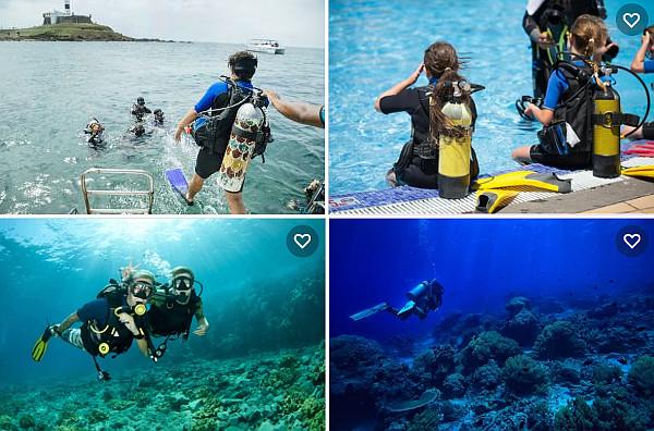 curso básico de mergulho em Salvador Bahia