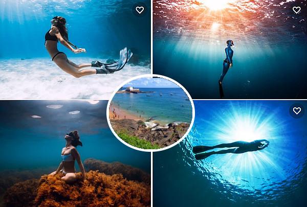 curso de mergulho livre